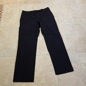 Express producer black chinos 32x32